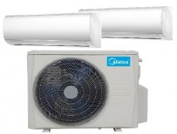 Midea MA-09NXD0-I  2,6Kw  + MA-12NXD0-I 3,5 Kw Blanc oldalfali beltéri klímaberendezések ( kültérivel M2OD-18HFN8-Q 5,3 Kw)