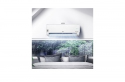LG DUAL COOL & PURE AP12RT oldalfali klímaberendezés