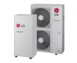 LG THERMA V magas hőmérsékletű változat HU161H.U32 Hőszivattyú