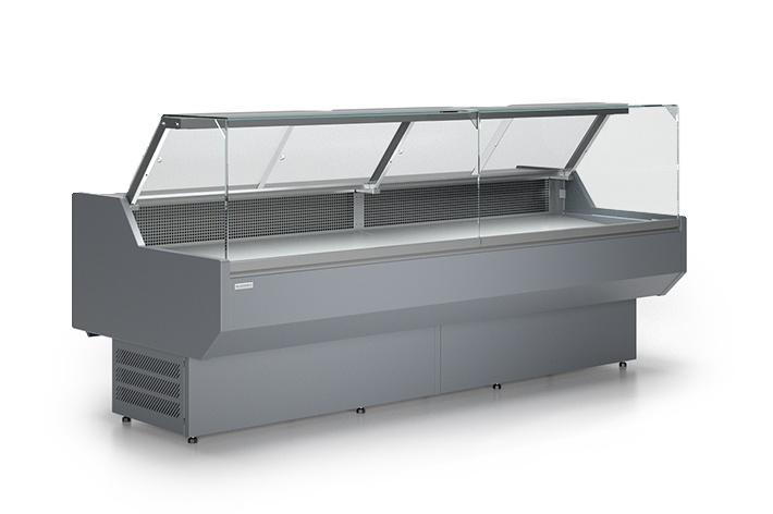 <p>beépített aggregátum</p>  <p>statikus hűtés</p>  <p>elektromos leolvasztás</p>  <p>elektronikus vezérlő</p>  <p>egyenes, dönthető üveg</p>  <p>frontüveg melegítő</p>  <p>rozsdamentes acélból készült kijelző felülete</p>  <p>rozsdamentes acélból készült élelmiszer tároló kamra</p>  <p>gránit munkalap</p>  <p>ABS oldalak</p>  <p>LED felső világítás, &nbsp;egy, fehér</p>  <p>Plexiüveg függönyök</p>  <p>PVC lökhárító</p>  <p>Húros összekapcsolás lehetősége</p>