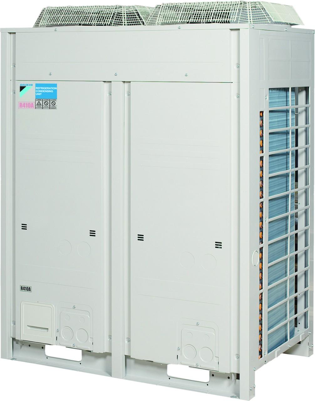 """<ul> <li>Egyetlen modell minden alkalmazásra -45℃-tól 10°C párologtatási hőmérsékletig</li> <li>VRV (változtatható hűtőközeg-mennyiség) technológia a rugalmas felhasználási tartományhoz</li> <li>Alacsony hangszint """"éjszakai mód"""" üzemmel</li> <li>Egy dedikált egység lehetővé teszi a 2 x 15 HP vagy 2 x 20 HP multi kombinációt, amihez kevesebb vezeték és rövidebb telepítési idő szükséges</li> <li>Tökéletes megoldás eltérő terhelési körülmények közötti, nagy energiahatékonysággal való hűtési és fagyasztási üzemelésre, úgy mint szupermarketek, hűtve tárolás, hűtőtartályok és mélyhűtők, stb.</li> <li>DC inverter scroll kompresszor takarékossági funkcióval, mely nagy energiahatékonyságot és megbízható teljesítményt nyújt</li> <li>Csökkentett CO2 kibocsátás az R-410A hűtőközegnek és az alacsony energiafogyasztásnak köszönhetően</li> <li>Az egyszerű telepítés és üzembehelyezés érdekében gyárilag tesztelt és előre programozott</li> <li>A lecsökkentett méreteknek köszönhetően rugalmasabban telepíthető</li> <li>Kis fagyasztási kapacitás esetén az egyedi ZEAS egységek kiegészítő egységhez csatlakoztathatók</li> </ul>"""