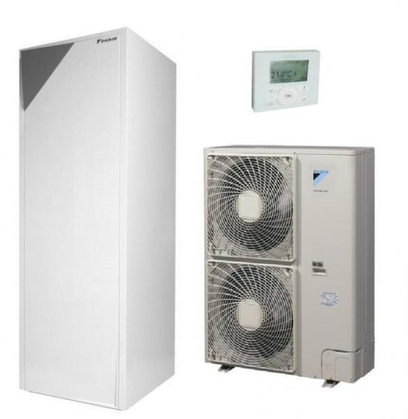 <p>Típus: &nbsp; Osztott rendszerű (split) &nbsp;&nbsp;</p>  <p>Kivitel-Üzemmódok: &nbsp; Fűtés és hűtés &nbsp;&nbsp;</p>  <p>Felhasználás-COP: &nbsp;3.45 &nbsp; (+7 oC külső hőmérséklet és +35 oC víz esetében)</p>  <p>EER: &nbsp;2.47 &nbsp; (+35 oC külső hőmérséklet és +18 oC víz esetében)</p>  <p>Feszültség: &nbsp; 380 V (3 fázis)</p>  <p>Zajszint kültéri egység (dBA): &nbsp; 51 (Fűtéskor)</p>  <p>Beépített fűtőpatron: &nbsp; 9 kW &nbsp; (Beltéri egységben)</p>  <p>Fűtési teljesítmény: &nbsp; 10.30 kW &nbsp; (+7 oC külső hőmérséklet és +35 oC víz esetében)</p>  <p>Hűtési teljesítmény: &nbsp; 12.55 kW &nbsp; (+35 oC külső hőmérséklet és +18 oC víz...)</p>