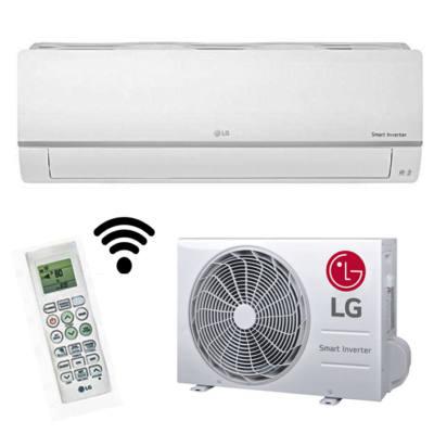 LG SILENCE PLUS PC 12SQ (3,5kW) oldalfali klímaberendezés
