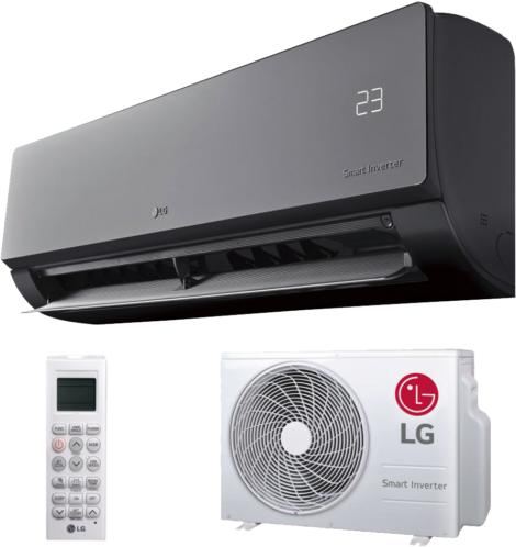 LG ARTCOOL MIRROR AC 09BQ (2,5kW) oldalfali klímaberendezés