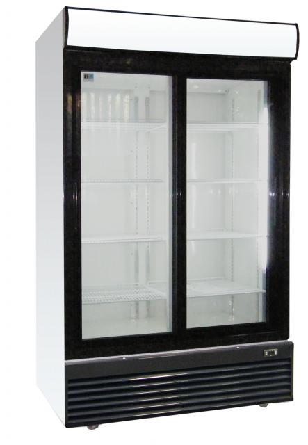 LG-1000BFS - Csúszó üvegajtós hűtővitrin