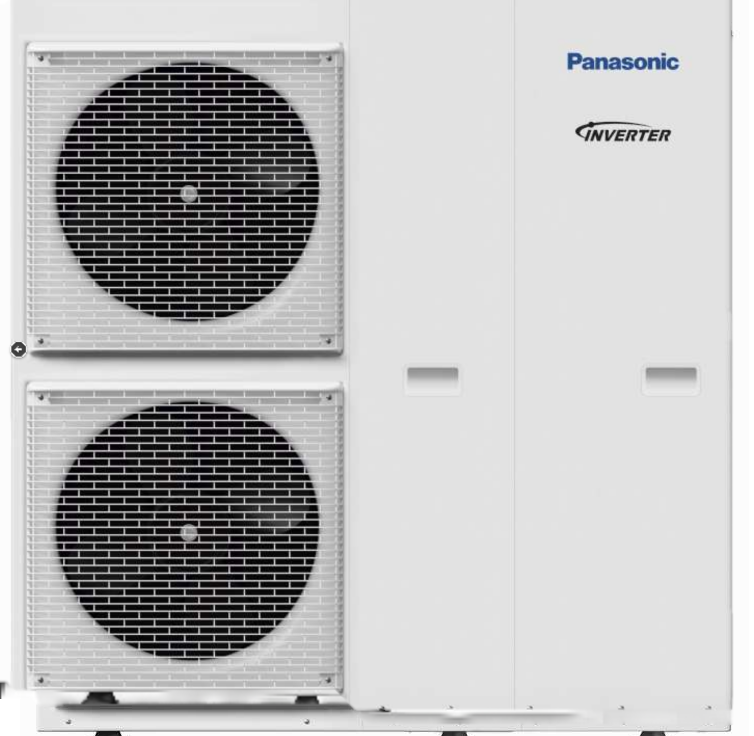 PANASONIC AQUAREA ALL IN ONE HIGH PERFORMANCE WH-UD12HE5 / ADC1216H6E5 osztott levegő-víz hőszivattyú 12kW