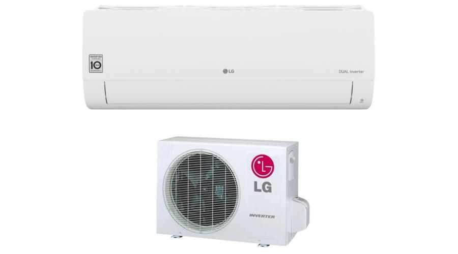 LG SILENCE S12EQ (3,5kW) oldalfali klímaberendezés