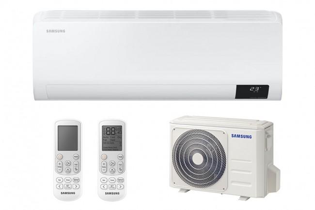 Samsung AR18TXFYAWKNEU Cebu Inverteres oldalfali hűtő-fűtő split klíma (5,0kW). Bakonyiklíma