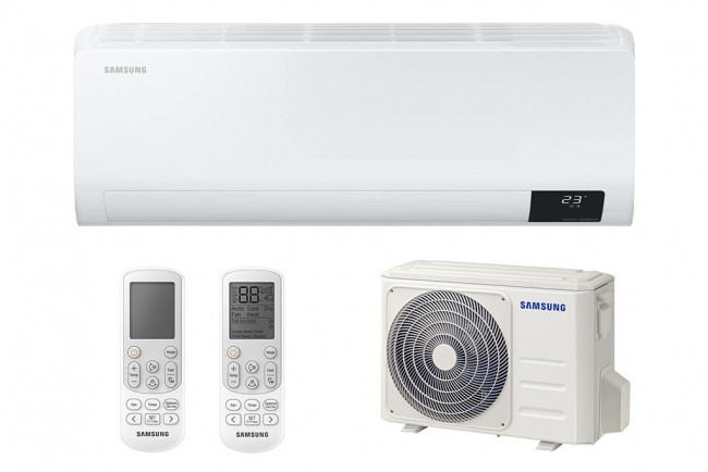 Samsung AR24TXFCAWKNEU Wind Free Comfort Inverteres oldalfali klímaberendezés (6,5kW)