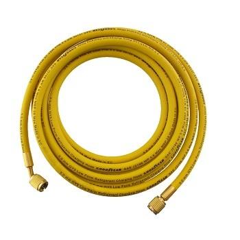 """Töltőcső 2500mm 1/4"""" sárga"""