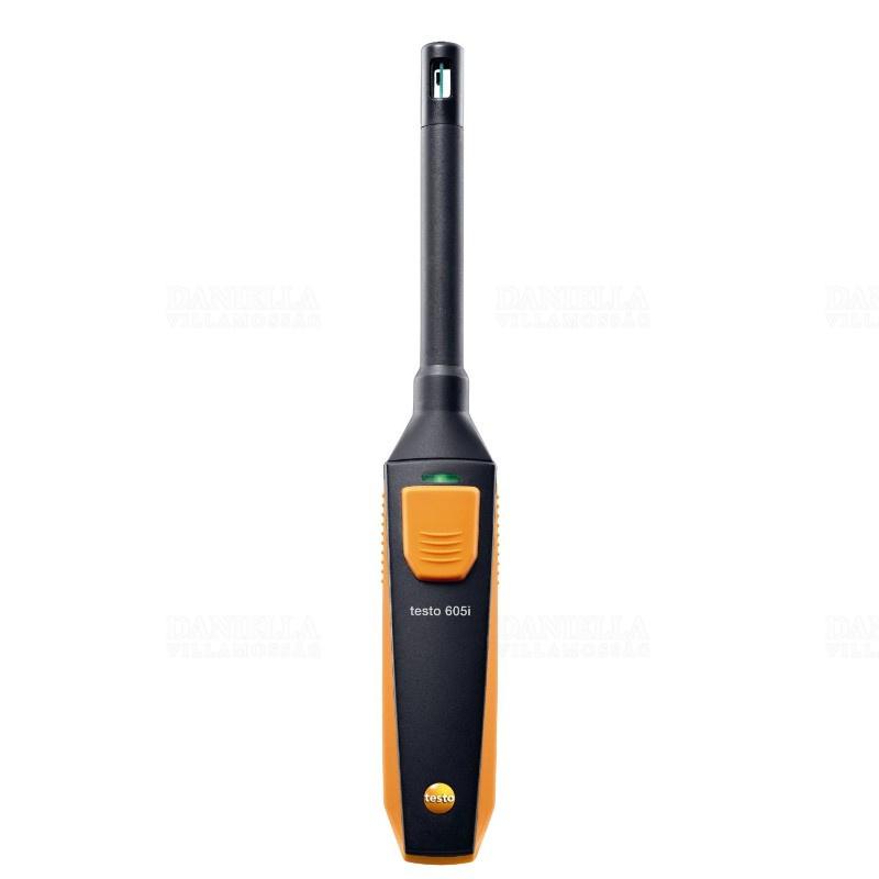 Testo 605i Páratartalom és hőmérsékletmérő