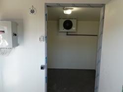 NZ100 Mélyhűtőkamra 1500x1500x2300mm Padlóval