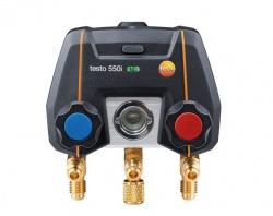 Új testo 550i - alkalmazás vezérelt digitális szervizcsaptelep Bluetooth-al és 2-utas szelepblokkal